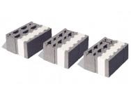 """Фирма производит бетонные и керамзитобетонные  """"трехслойные """" блоки со встроенным утеплителем, а также бетонные..."""